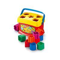 Fisher-Price K7167 Babys erste Bausteine ab 6 Monaten Steckbox Sortierbox