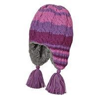 Sterntaler Strickmütze mit Zopfmuster für Mädchen Farbe Violett 651