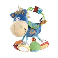 Playgro Toy Box Klipp Klapp Blaues Pferd mit Rassel