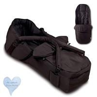 Hauck Carrycot 2 in 1 soft carrier bag + foot muff Color Black