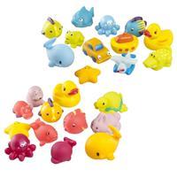 Babymoov Spritztiere Badespielzeug Badefreunde 12-teilig