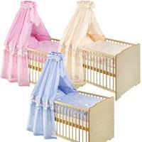 Zöllner Bett Set - Bettwäsche Nestchen Himmel Schmusefanten