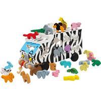 Legler ABC Animal Bus