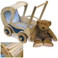 Legler Small Foot Design, Puppenwagen Dolly, Holz-