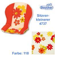 Geuther Sitzverkleinerer 4737 für alle Hochstühle (außer Swing) Blumen