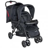 Safety 1st DUODEAL All Inclusive Siblings Stoller Full Black