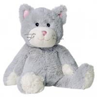 Greenlife Value Warmies Beddy Bears - Gartentiere Wärmestofftier mit Lavendel Katze, grau