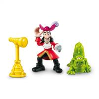 Jake & die Nimmerland Piraten - Spielfiguren 3er S Hook & TickTock