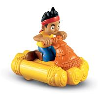 Fisher-Price Jake & Die Nimmerland Piraten Hooks racing-raft in different Themes