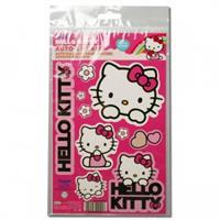 Kaufmann Aufkleber Set Hello Kitty mit verschiedenen Stickern