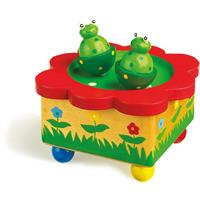 "Legler Musical Box ""Frog Pond"""