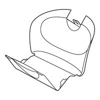 Maxi Cosi 96170002 Windelfachklappe für Cabriofix
