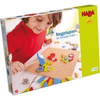 Haba Nagelspiele in verschiedenen Ausführungen Im Einsatz Maxi