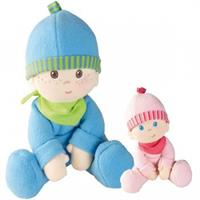Haba Snug Up Dolls in different Versions