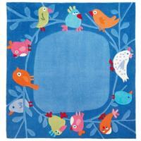 Haba Teppich Vögelchen Maße 140 x 140 cm