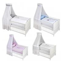 Zöllner Babybett-Set Voile-Set mit Applikation