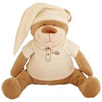 Babiage Doodoo Bär Plüschtier Einschlafhilfe für Babys, Ecru