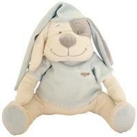 Babiage Doodoo Hund Plüschtier Einschlafhilfe für Babys, Blau
