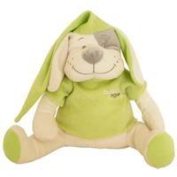 Babiage Doodoo Hund Plüschtier Einschlafhilfe für Babys, Grün