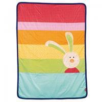 Sigikid Decke Krabbeldecke Rainbow Rabbit
