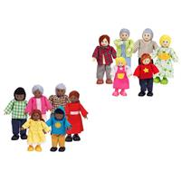 Hape Puppenfamilie