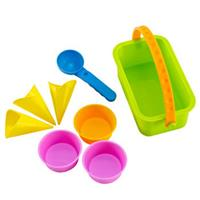 Hape sandpit beach toy molds ice cream parlor