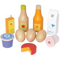 Hape Healthy food set fits the children's kitchen