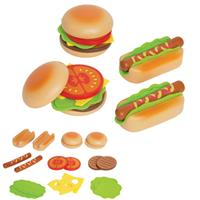 Hape Hamburger & Hotdogs for the Child's Kitchen