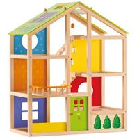 Hape Four seasons Dollhouse Playhouse