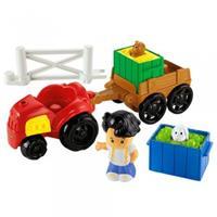 Fisher-Price Little People Y8202 Traktor und Anhänger