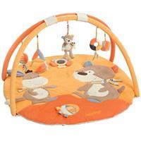 BabyFehn 3-D Activity-Decke Krabbeldecke Koala Monkey Donkey