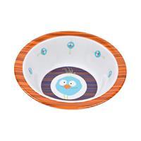 Lässig Schüssel Dish Bowl Melamine/Silicone Birdie