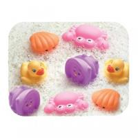 Playgro Bathtime squirties girl (8 pcs)