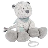 Nattou Music Box Snow Leopard