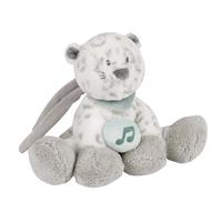 Nattou Mini-Music Box Snow Leopard