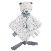Nattou Mini-Cuddle Cloth Snow Leopard