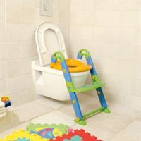 KidsKit Toilettentrainer 3-in-1 WC-Sitz Potty Leiter with WC-Sitz bunt