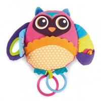 Oops Best Friend! Activity Owl - My best friend with Rattle & backseat mirror - Owl Mr. Wu