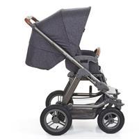 ABC Design Viper 4 Kinderwagen mit Luftraedern street Sportwagen Seitenansicht
