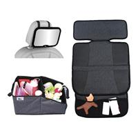 Altabebe Travel Set 2 incl. Safety Back Mirrow, Seat Protection and Organizer