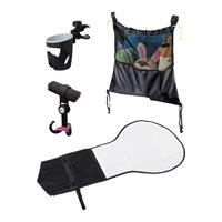 Altabebe Buggy Set incl. Hooks for Buggy or Pram, Cup Holder, Travel Bag and Changing Mat