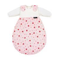 Alvi Baby-Mäxchen Schlafsack 3teilig Glückspilz rosa 713-2