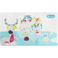 Badabulle Bath Mat With Thermometer - Mountin Animals