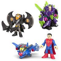 Mattel Super Freunde Schutzausrüstung – Batman, Superman & Lex Luthor