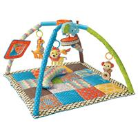 Bkids Deluxe Twist & Fold Activity Gym & Play Mat Blue