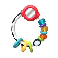 Bkids Gaga Ring Rattle with Mirror