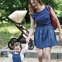 Brevi Presto leichter Kinderwagen | incl. Beindecke & Wickeltasche