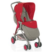 Brevi pushchair Boomerang Red/Beige