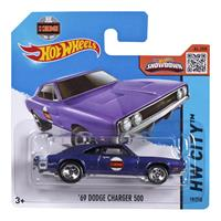 Mattel Hot Wheels Spielzeug Auto CFJ71 69' Dodge Charger 500