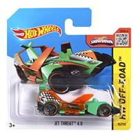 Mattel Hot Wheels Spielzeug Auto CFK48 Jet Threat 4.0